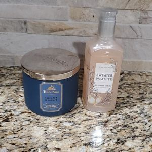 Candle & hand soap